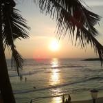 Sunset Kovalam Beach