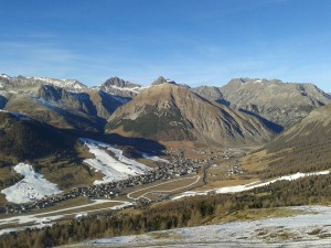 View on Livigno